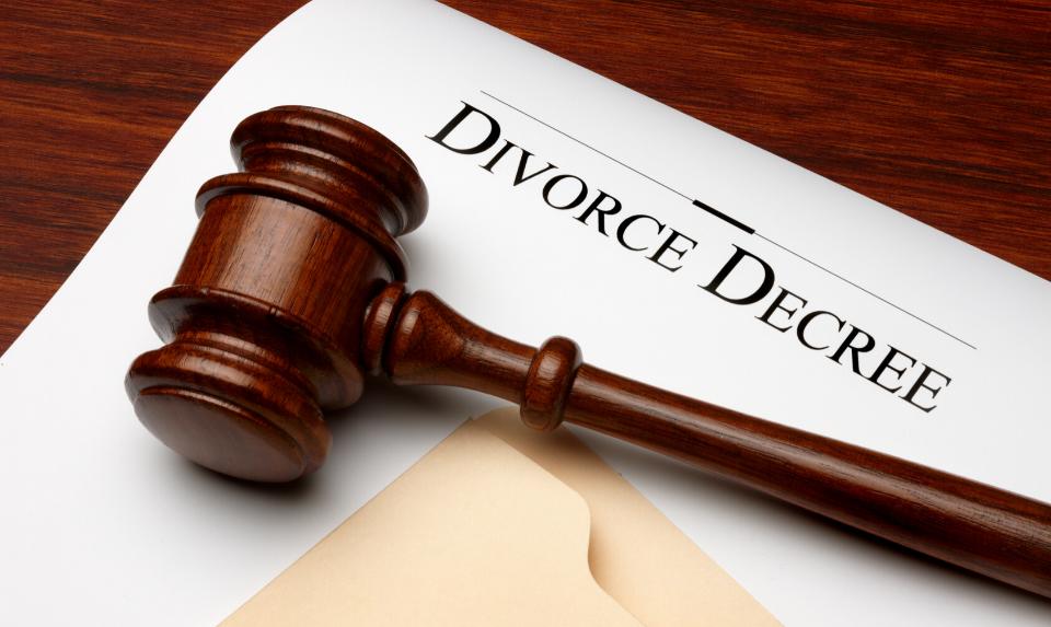 uncontested divorce decree