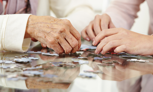 If the senior can't look after his or herself anymore and there's no power of attorney, a guardian is needed.